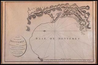 1798 Monterey California North America Map