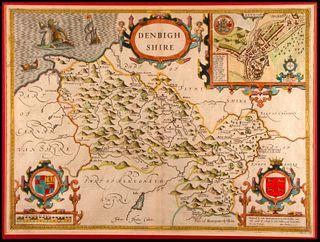 John SPEEDE (1552-1629) Map