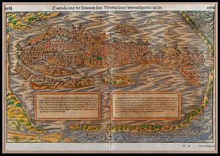 17th/18th century Venetian map