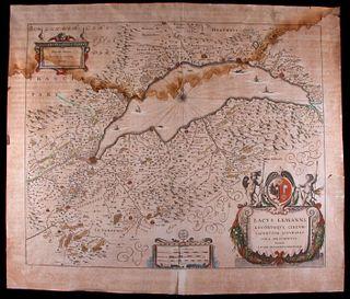 Jan Janszoon JANSSONIUS (1618-1657) Map