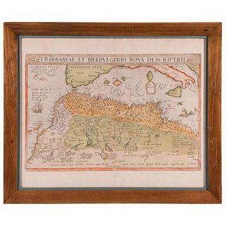 Abraham ORTELIUS (1527-1598) Map