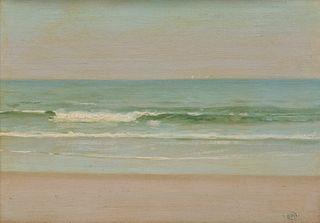 HERMANN DUDLEY MURPHY, (American, 1867-1945), The Surf, oil on artist's board, 10 x 14 in., frame: 18 3/4 x 22 3/4 in.