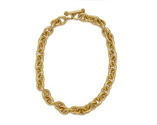 ELIZABETH LOCKE 18K Gold Necklace