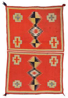 Navajo Child's Wearing Blanket; 4ft. x 2 ft. 9 in.
