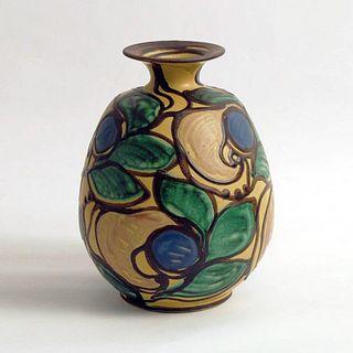 Art Deco Herman A. Kahler Keramik Earthenware Vase