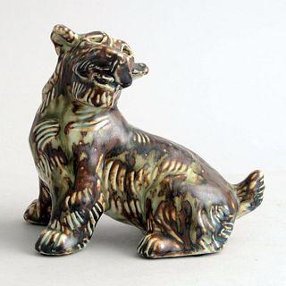 Knud Kyhn for Royal Copenhagen Dog Sculpture