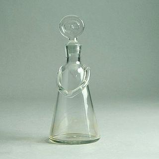 Mid-Century Modern Erik Hoglund Glass Decanter