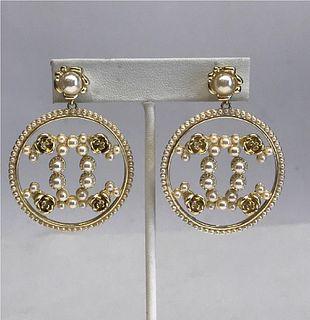 Chanel Pendant Fashion Earrings, Pair