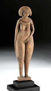 Rare Egyptian Wood Female Concubine C-14 Tested