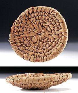 Superb Egyptian Basket, ex-Sothebys, ex-Musueum