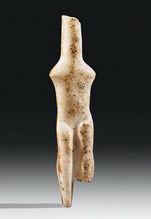 Cycladic Marble Idol - Louros Type w/ Art Loss Register