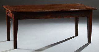 French Carved Cherry Farmhouse Table