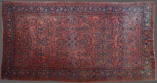 """Oriental Carpet, 10' 3 x 18' 4. Provenance: from the Estate of Gertrude """"Peggy"""" Logan Simpson Howcott, New Orleans, LA."""