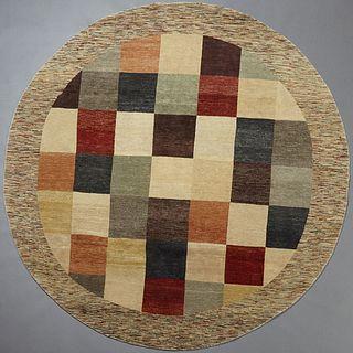 Uzbek Gabbeh Carpet, Dia.- 8' 2.