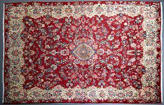 Kirman Carpet, 9' 6 x 13'.