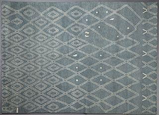 Moroccan Carpet, 8' 10 x 12'.