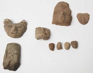Pre Colombian Fragment Lot