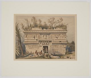 Frederick Catherwood Hand Colored litho No 21