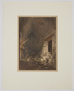 Frederick Catherwood Hand Colored litho No 17