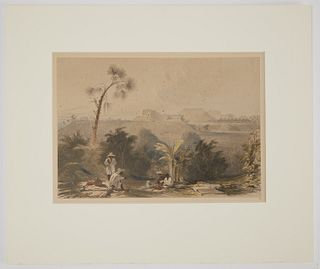 Frederick Catherwood Hand Colored litho No 13