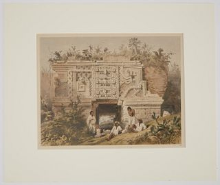 Frederick Catherwood Hand Colored litho No 14