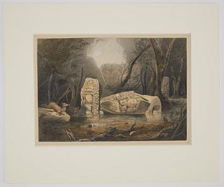 Frederick Catherwood Hand Colored litho No 4