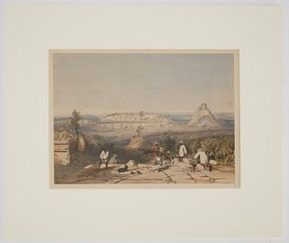 Frederick Catherwood hand colored litho No. 8