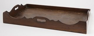 Chippendale Mahogany Serving Tray