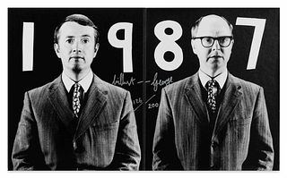 Gilbert & George (British, b. 1942 and 1943) Gilbert & George (from Parkett No. 14 editions), 1987