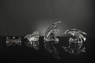 4 Swarovski Crystal SCS 'Mother and Child' 1990-1992
