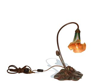 Tiffany Studios, 'Lily Flower' Lamp