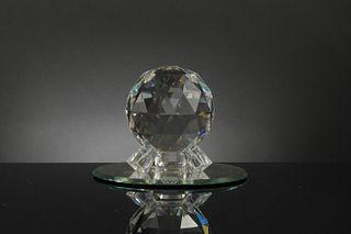 Boxed Swarovski Crystal Epcot Spaceship Earth