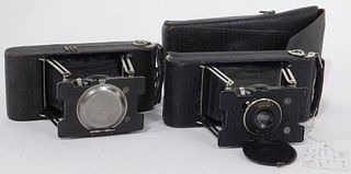 Lot of 2 Ansco Vest Pocket No. 2 Cameras