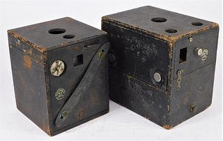 Lot of 2 Blair Box Cameras