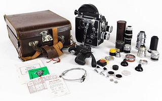 Bolex H16 Deluxe 16mm Movie Camera