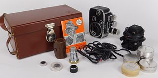 Bolex B8L Double 8mm Movie Camera