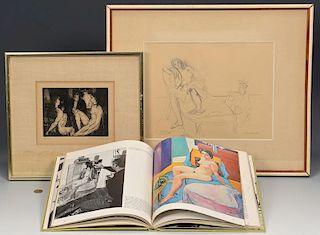 2 Warren Brandt Works and book