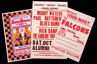 Muddy Waters. The Falcons.