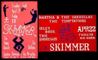 Smokey Robinson. The Temptations. Original preliminaries.