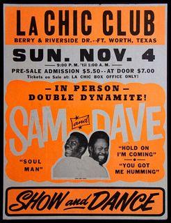 Sam and Dave, La Chic Club.