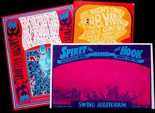 Three vintage posters.