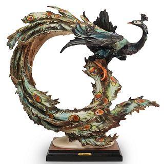 Giuseppe Armani Peacock Figurine