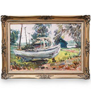 Walter Farndon (English, 1876-1964) Signed Oil on Board
