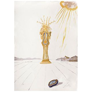 SALVADOR DALÍ, Barometer woman, from the series Time, 1976.