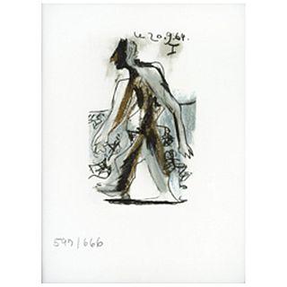 PABLO PICASSO, I, from the album Picasso Le Gout du Bonheur, 1970.