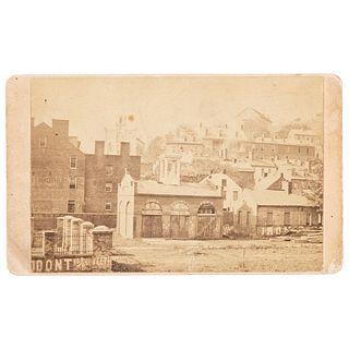 CDV of John Brown's Fort, Harpers Ferry, West Virginia, Ca 1885