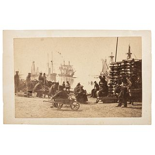CDV of Contraband Crew from the Ironclad Gunboat USS Essex