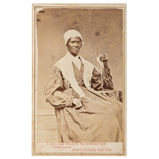 Rare Sojourner Truth CDV