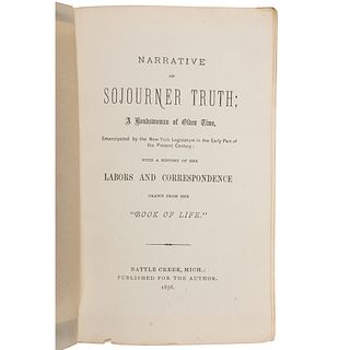 Narrative of Sojourner Truth; a Bondswoman of Olden Time, First Battle Creek Edition, 1878