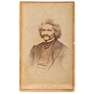 Frederick Douglass CDV by Bradley & Rulofson, San Francisco, California